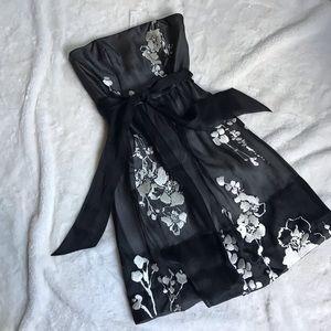 White House Black Market Embroidered Dress